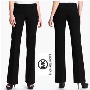 Michael Kors Gramercy Fit Black Pants